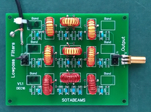 Low Pass Filter Kit for WSPRlite / WSPRlite Flexi